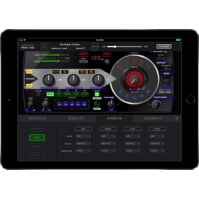DJ effector app for iPad