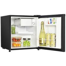 1.7 Cubic-ft Manual Defrost Refrigerator (Black)