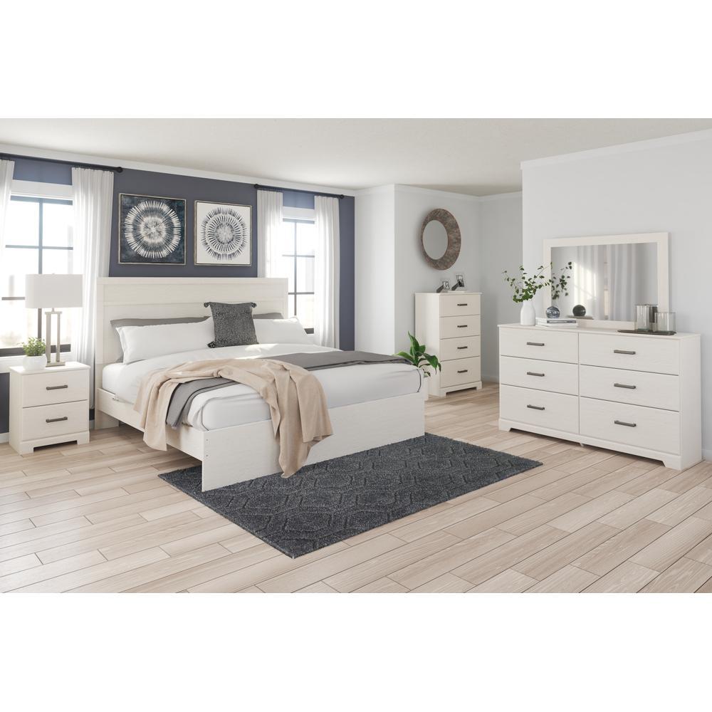 Stelsie King Panel Bed