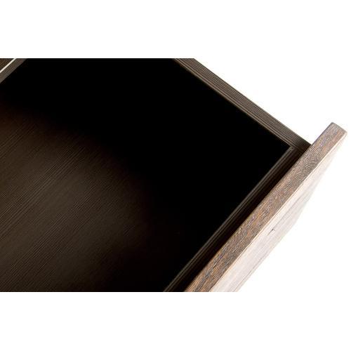 Modrest Wharton Modern Dark Aged Oak Dresser