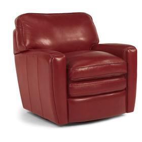 Stevens Leather Swivel Chair