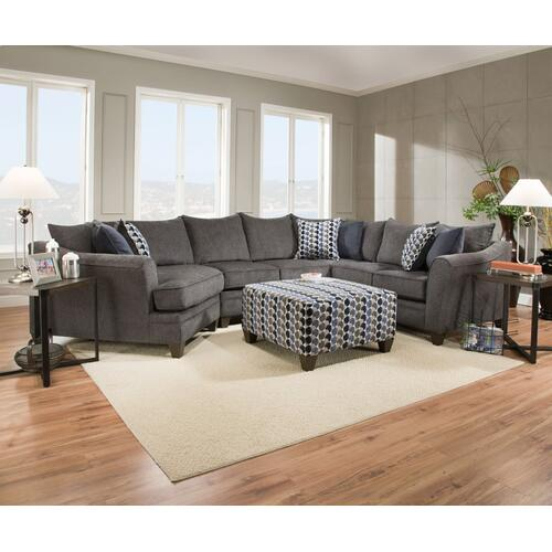 "3PC Sectional 158"" x 100"""