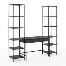 See Details - Jacobsen 3pc Desk and Etagere Set