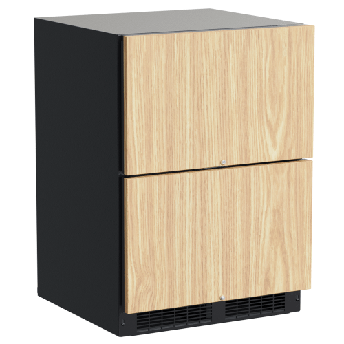 24-In Professional Built-In Refrigerated Drawers With Adjustable Dividers with Door Style - Panel Ready