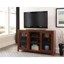 """60"""" Oak Folding TV Console"""