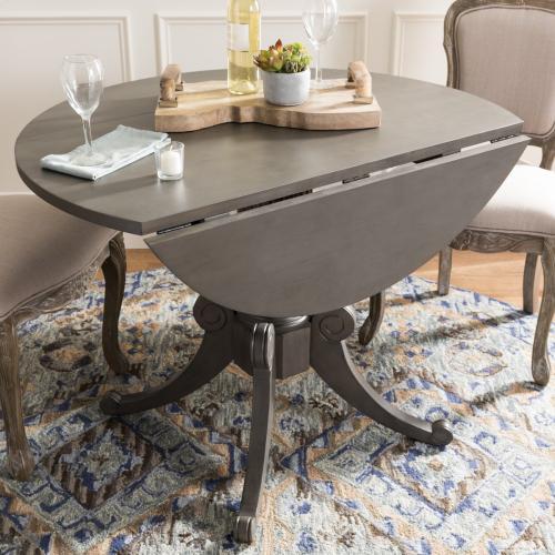 Forest Drop Leaf Dining Table - Grey Wash