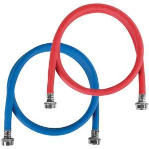 Petra2 pk Red/Blue EPDM Washing Machine Hoses, 4ft