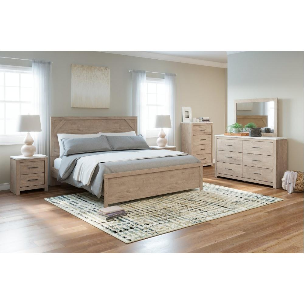 Senniberg King Panel Bed