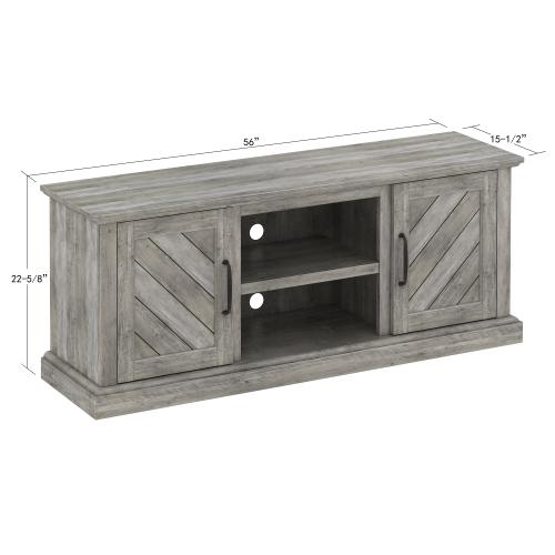 """Belcrest TV Stand for TVs up to 60"""", Valley Pine"""