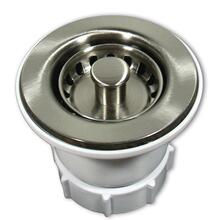 "DR220 2"" Jr. Strainer in Brushed Nickel"