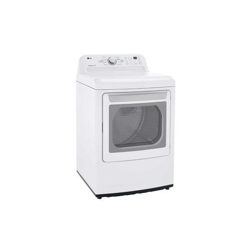 LG - 7.3 cu. ft. Ultra Large Capacity Gas Dryer with Sensor Dry Technology