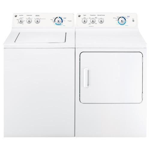 GE® Long Vent 7.0 cu. ft. capacity Dura Drum gas dryer