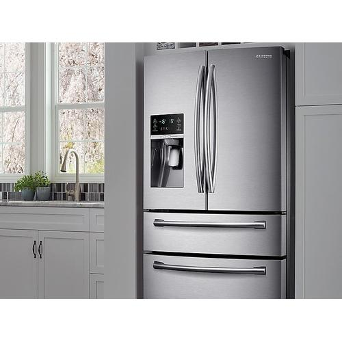 30 cu. ft. 4-Door French Door Refrigerator in Stainless Steel