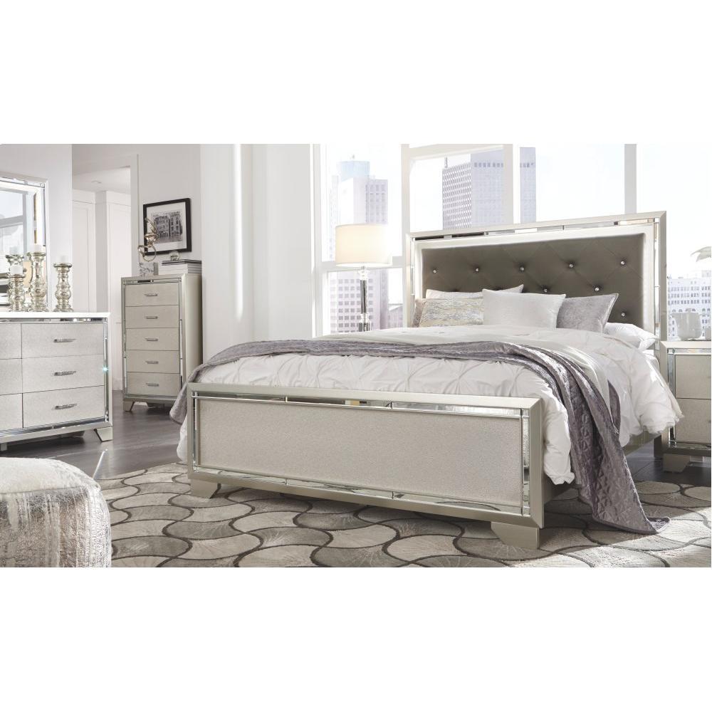 Lonnix Queen Panel Bed