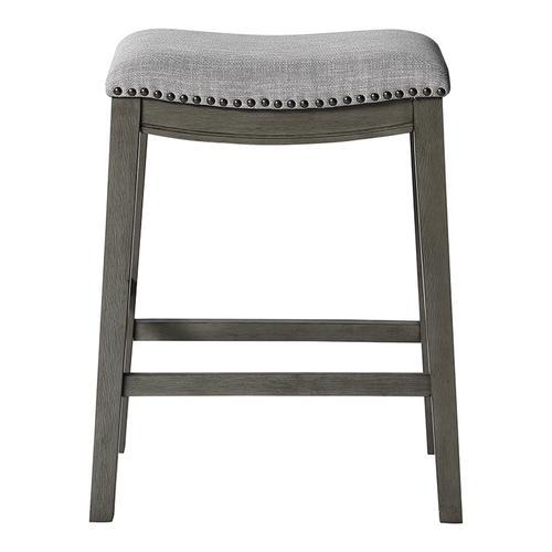 Saddle Stool In Grey