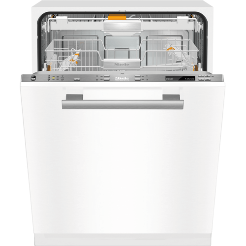 Miele - PG 8133 SCVi [120/240V 60HZ 30A] - Fully integrated dishwasher with 3D+ cutlery tray for large loads of dishware in households, offices and utility areas.