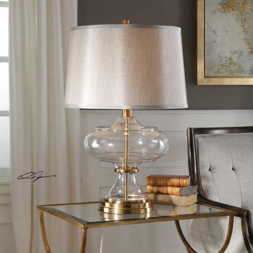 Jelani Brass Table Lamp