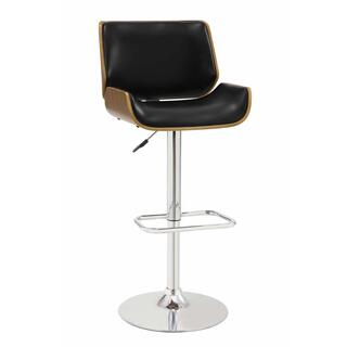 Bay Adjustable Bar Stool Black
