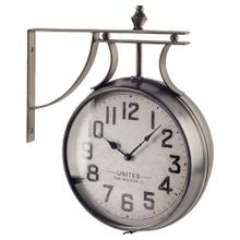 """See Details - Lindsay 19"""" Round Large Industrial Wall Clock"""