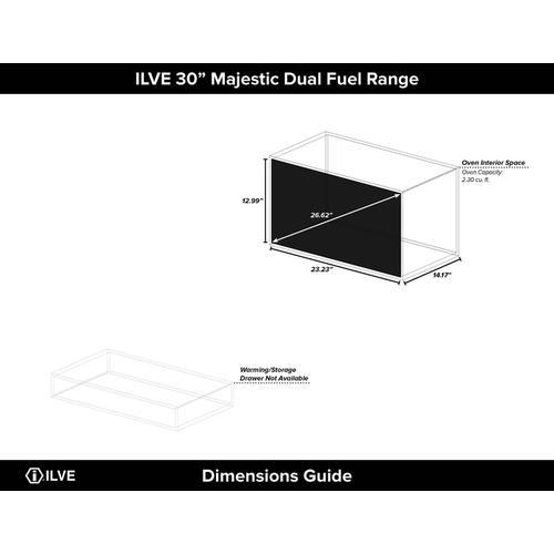 30 Inch Custom RAL Color Dual Fuel Liquid Propane Freestanding Range