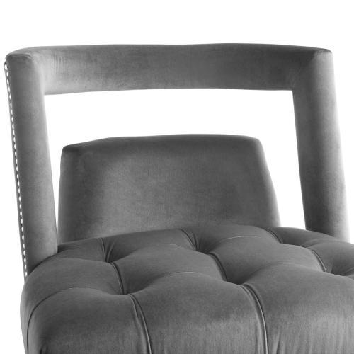 Modway - Honor Armchair Performance Velvet Set of 2 in Gray