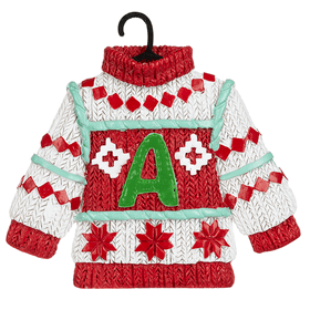 Sweater Ornament - A