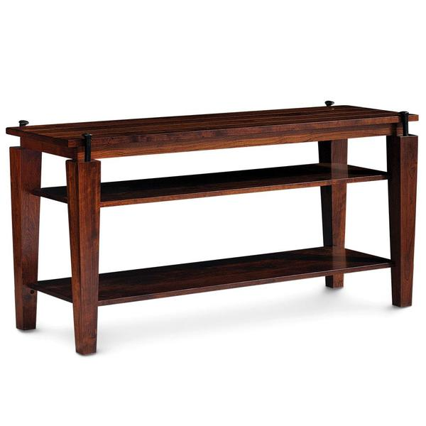 See Details - B&O Railroad Spike Open TV Stand, Large