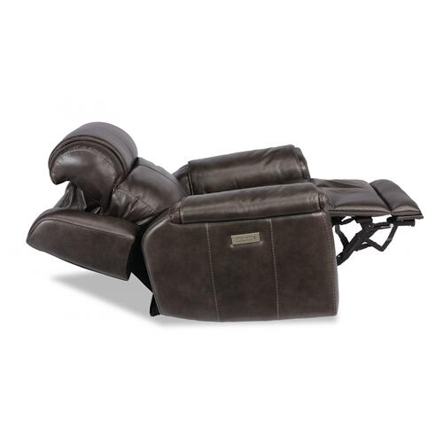 Kingsley Power Recliner with Power Headrest & Lumbar