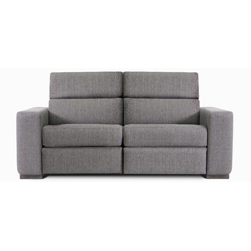 James Apartment sofa (169-170; Wood legs - Chacoal 74)