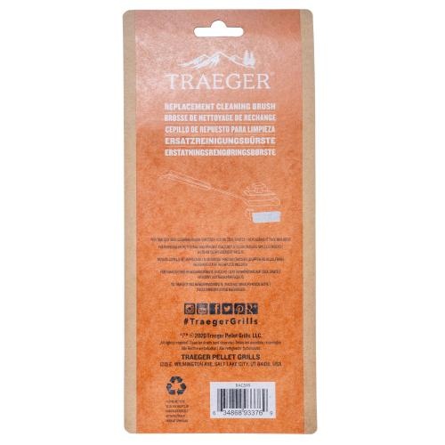 Traeger Grills - Traeger Replacement BBQ Cleaning Brush Head (2 Pack)