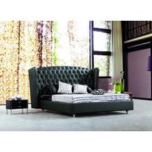 Modrest 500 - Transitional Eco-Leather Bed
