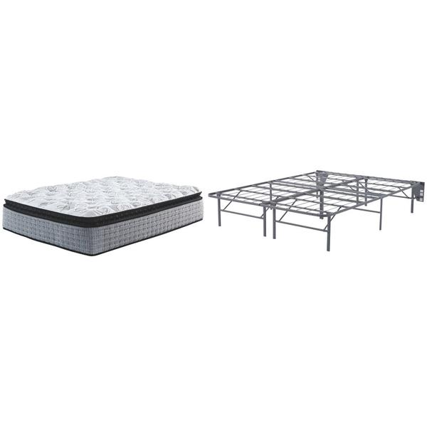 See Details - Mt Rogers Ltd Pillowtop Queen Foundation and Mattress