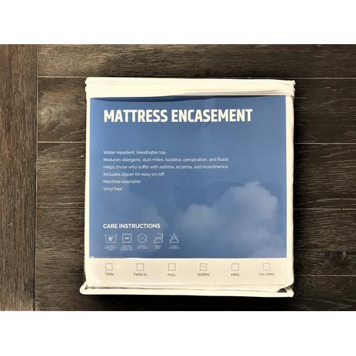 Mattress Protector Foundation, White Esprotector-km