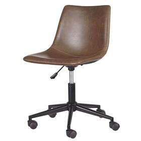 Home Office Swivel Desk Chair brown