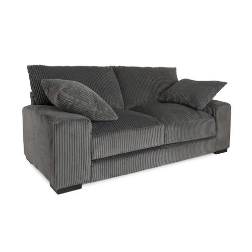 Big Chill Charcoal Sofa, Loveseat & 1.5 Chair, U2249