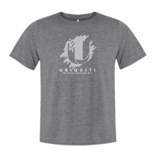 Future of Scalable Wi-Fi T-Shirt, Gray - Large