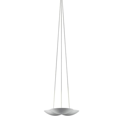 Sonneman - A Way of Light - Little Cloud LED Uplight Pendant [Color/Finish=Bright Satin Aluminum]