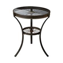 See Details - INDUSTRIAL STYLE SIDE TABLE