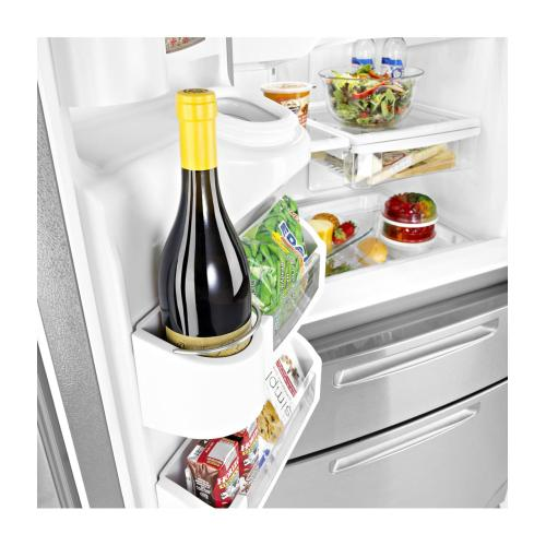 **UNIT HAS NO ICEMAKER** Ice2O® French Door Refrigerator with Easy Access Refrigerator Drawer (This may be a Stock Photo, actual unit (s) appearance may contain cosmetic blemishes. Please call store if you would like additional pictures). This unit carries our 6 Month warranty, MANUFACTURER WARRANTY and REBATE NOT VALID with this item. ISI 38444 B