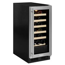15-In Built-In Single Zone Wine Refrigerator with Door Swing - Right