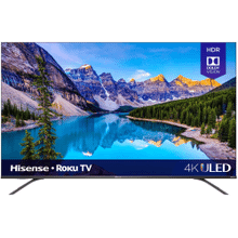 "55"" Class - R8 Series - 4K ULED Hisense Roku Smart TV (54.6"" diag)"