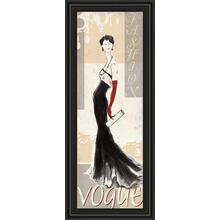 """Vogue"" By Tava Studios Framed Print Wall Art"