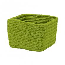 "Braided Craft Baskets Basket BC51 Bright Green 10"" X 6"""
