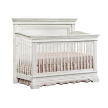 Product Image - Olivia Flat Top Convertible Crib  Brushed White Brushed White