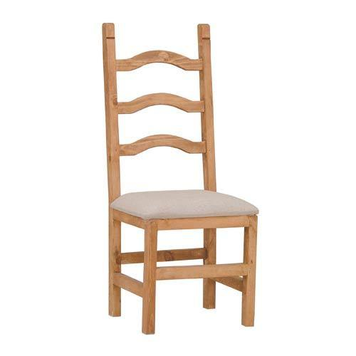 Padded Seat Ladder Back Chair