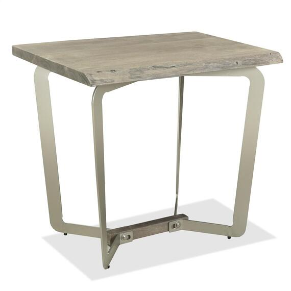 Riverside - Waverly - Side Table - Sandblasted Gray Finish