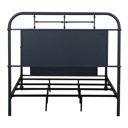 Full Metal Bed - Navy