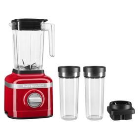 K150 3 Speed Ice Crushing Blender with 2 Personal Blender Jars - Passion Red
