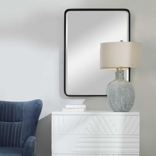 Uttermost - Crofton Black Large Mirror