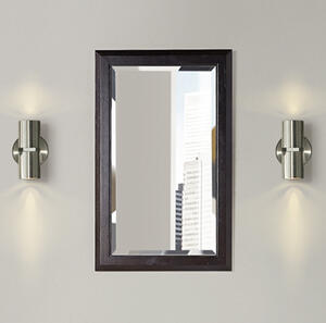 "Charlottesville 20"" Mirror - Vintage Black Product Image"